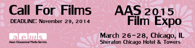 Call for Films - AAS 2015 Film Expo