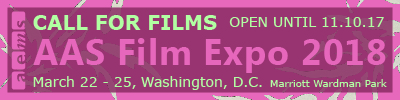 Call for Films 2018 Film Expo